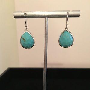 Ippolita Turquoise Mini Teardrop Sterling Earrings